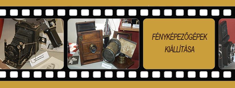 Fényképezőgép kiállítás Szerencsen