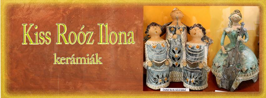 Kiss Roóz Ilona kerámia kiállítás