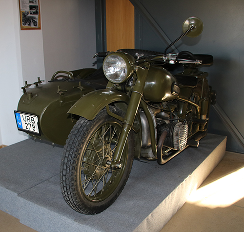 Urál Szovjet motorkerékpár veterán motorkiállítás Szerencsen