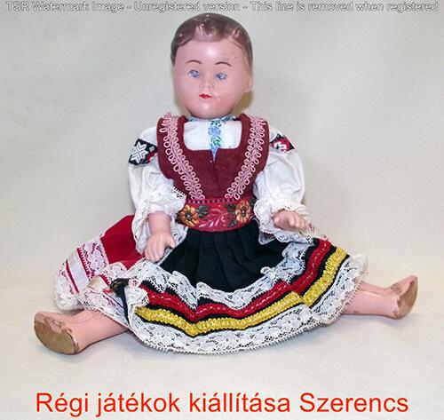retro baba kiállítás