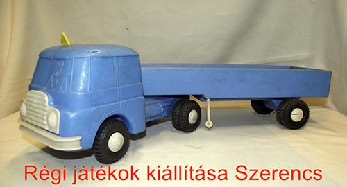 Retro műanyag Csepel kamion