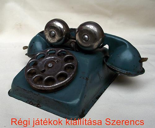 Magyar játéktelefon az 1960-as évekből