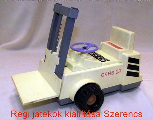 Régi szovjet targonca elemmel működő