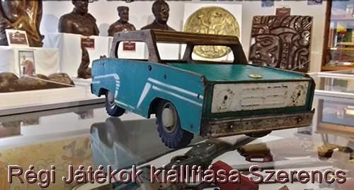 szovjetunió fa játékautó