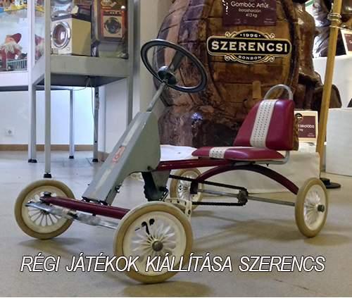 gyermek gokart játékautó csehszlovákis