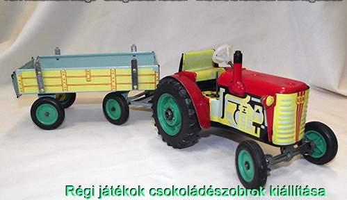 KDN traktór pótkocsival Csehszlovákia
