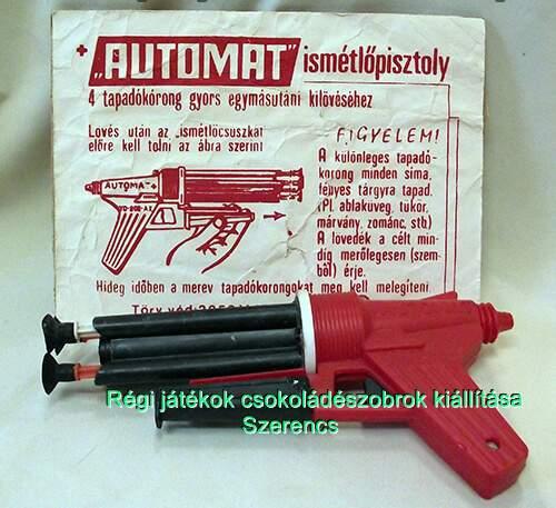 retro trafik pisztoly