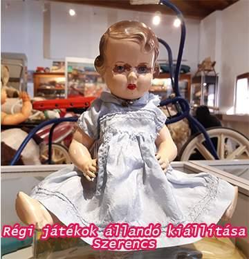 Celluloid baba játékkiállítás